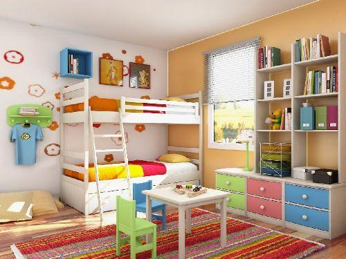 Как украсить интерьер детской комнаты?