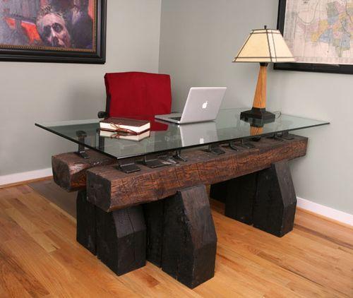 Новая идея в производстве мебели из шпал