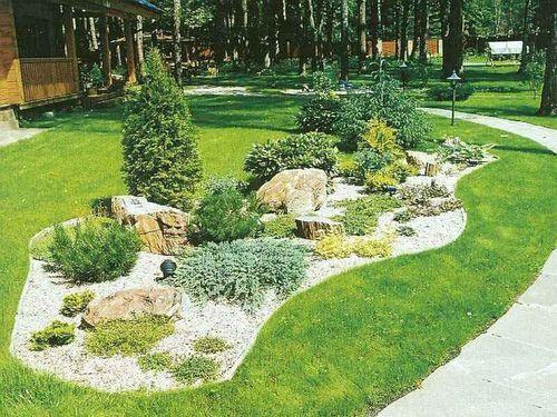 Озеленение участка. Примеры озеленения дачного участка
