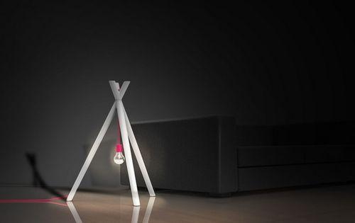 Светильник в виде костра Lamp Fire