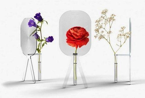 Вазы для цветов с увеличительной линзой Big Bloom