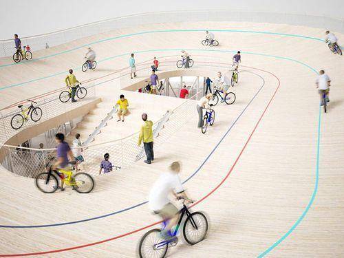 Bicycle Club - велопавильон в Китае