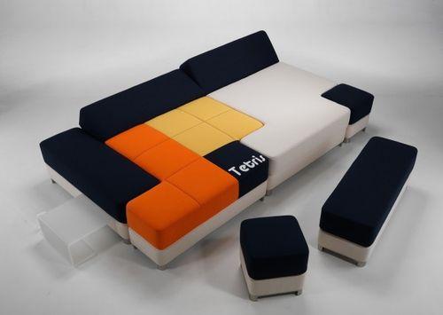 Диван-тетрис Tetris couch