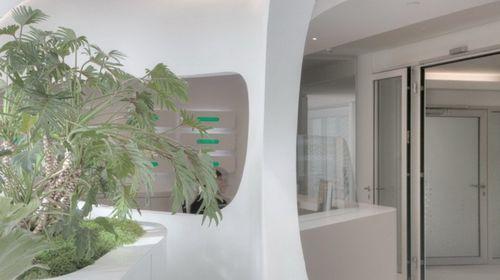Футуристический офис SYZYGY во Франкфурте от 3deluxe