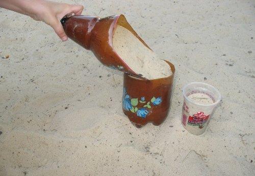 Игрушки для песочницы своими руками