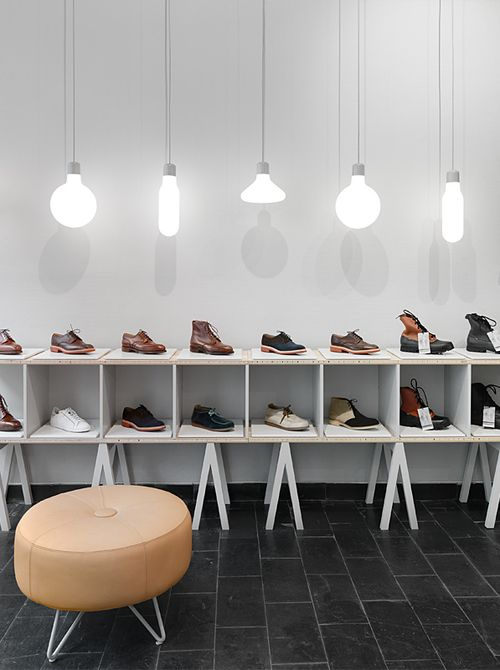 Интерьер магазина Haberdash
