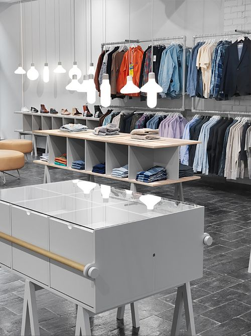Магазин мужской одежды Haberdash