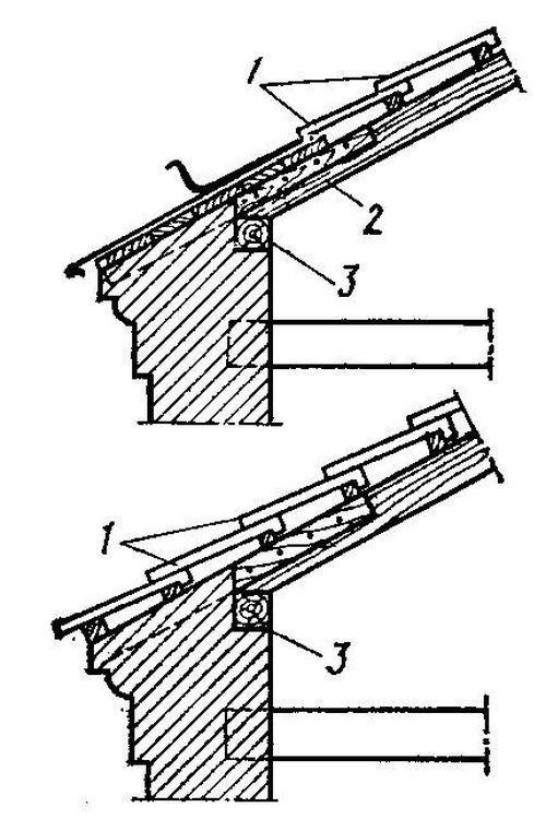Схемы и узлы для строительства крыши дома своими руками.