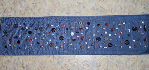 Массажный коврик из пуговиц
