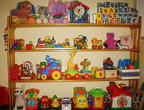 Полка для детских игрушек своими руками