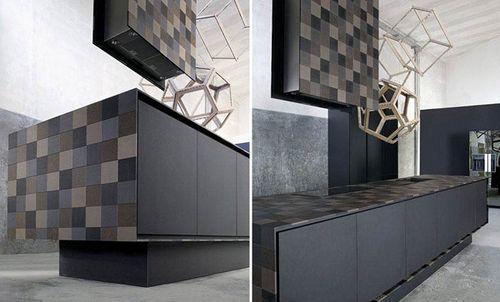 Дизайн кухни из бумаги