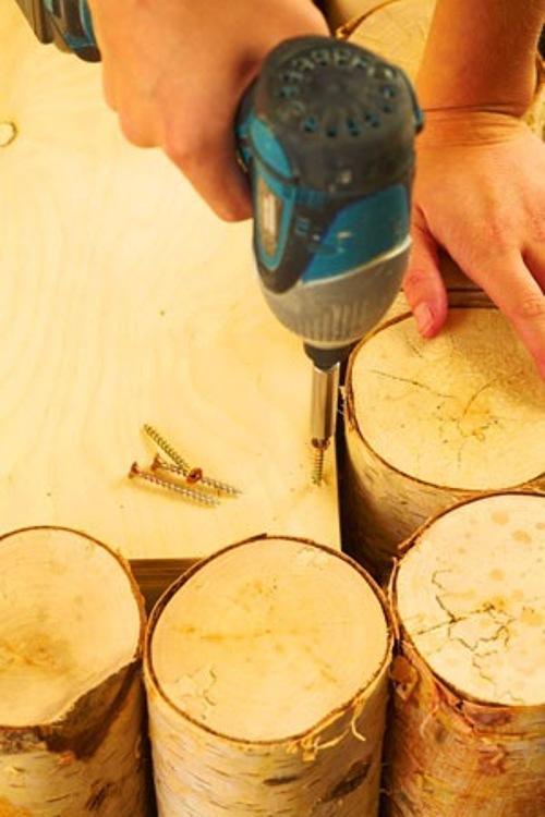 Основа деревянного столика