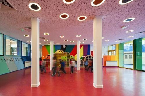Реконструкция парижского детского сада Pajol