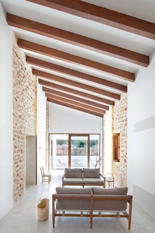 Гостиная в доме Can Manuel d'en Corda