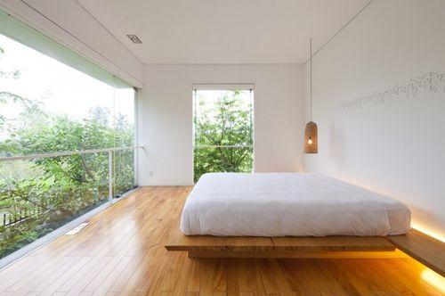 Просторная спальня в M11 House