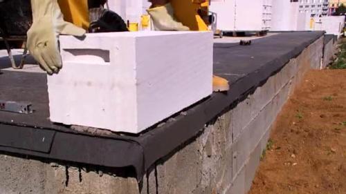 Как быстро построить дом? Технология строительство дома из газобетонных блоков