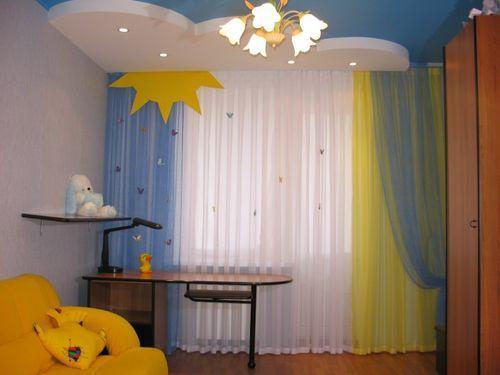 Как правильно подобрать шторы для детской комнаты