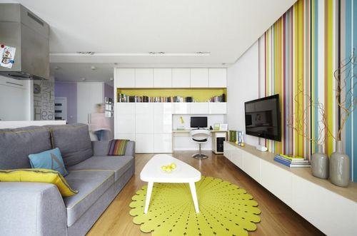 Дизайн квартиры в Варшаве
