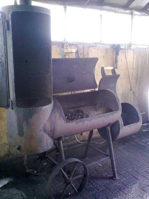 Мангал для барбекю своими руками фото