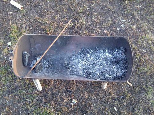 Сделать мангал из газового баллона своими руками.