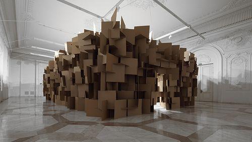 Музыкальная скульптура Zimoun (ВИДЕО)