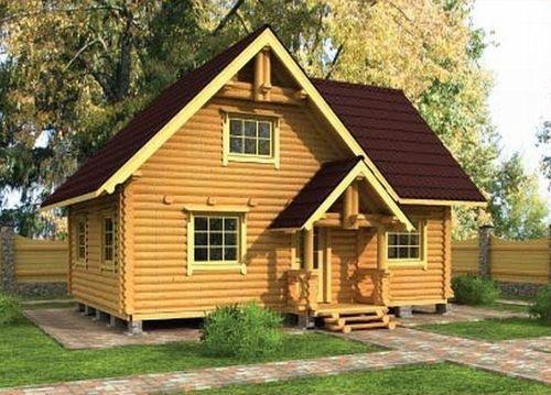 Большой садовый домик
