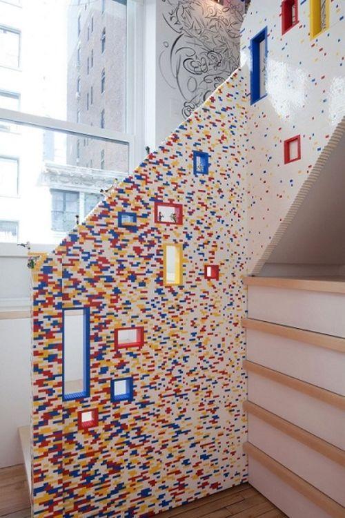 Лестница из LEGO