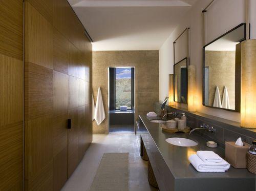 SPA-курорт Amangiri. Ванная комната