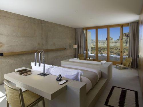 SPA-курорт Amangiri. Спальня