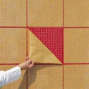 Видаляємо папір з мозаїки