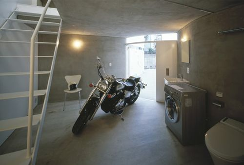 Motorcycle-Friendly Apartment