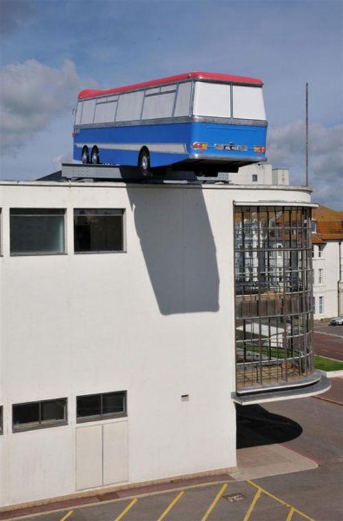 Архитектурная арт-инсталляция в Восточном Сассексе