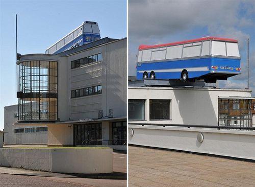 Архитектурная арт-инсталляция «Минуточку Ребята, я есть отличная идея ...»
