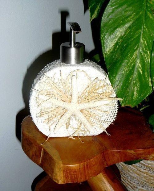 Декор емкости для мыла