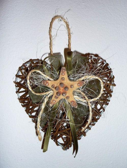 Морская звезда на сердце