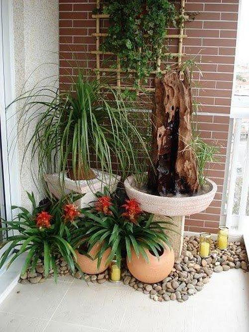 Дизайн балкона и лоджии. Цветы и растения