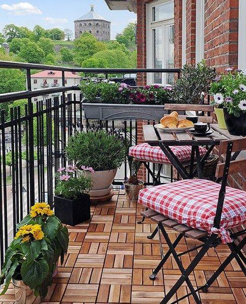 Дизайн балкона и лоджии. Пример