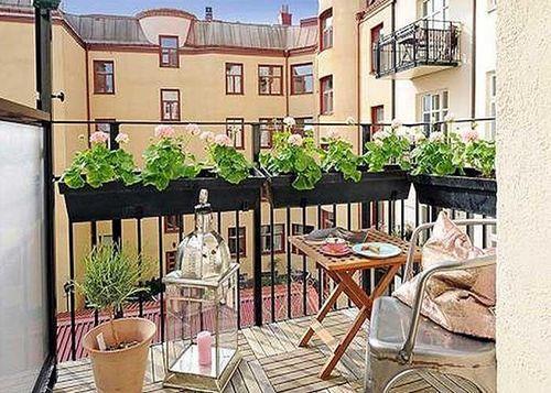 Прекрасный дизайн балкона и лоджии
