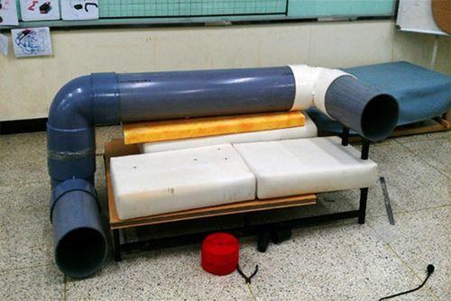 Диван из трубы Cat Tunnel Sofa