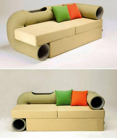 Диван Cat Tunnel Sofa