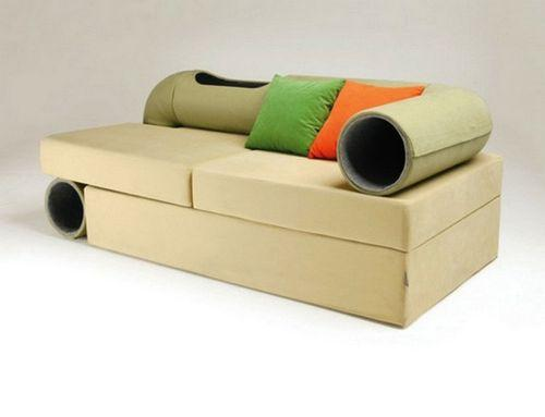 Дизайнерский диван Cat Tunnel Sofa