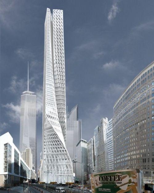 Дизайнерский небоскреб Edgar Street Towers