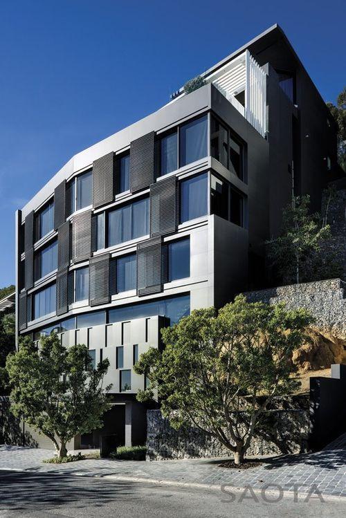 Дом Nettleton 198 с алюминиевым фасадом