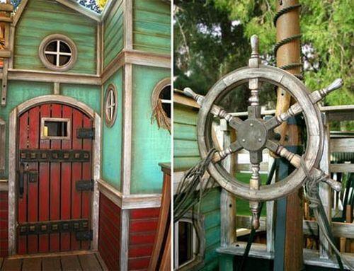 Домик для детей в виде корабля