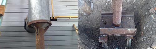 Дымоход из стальной водопроводной трубы своими руками