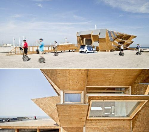 Endesa Pavilion – экономичное эко-жилье
