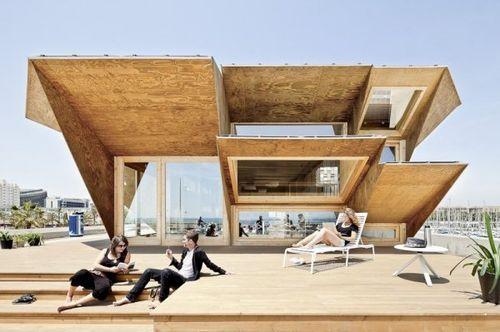 Endesa Pavilion – экономичное жилье от IAAC