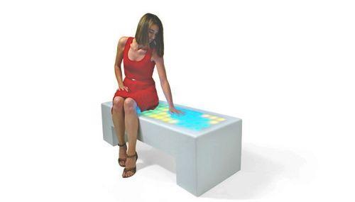 Интерактивная мебель Interactive Light Collection