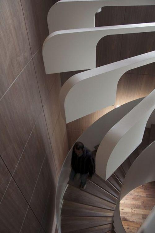 Лестница-светильник