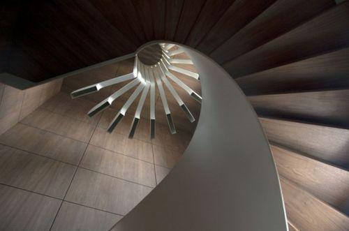 Лестница-светильник Spiral Staircase Lighting